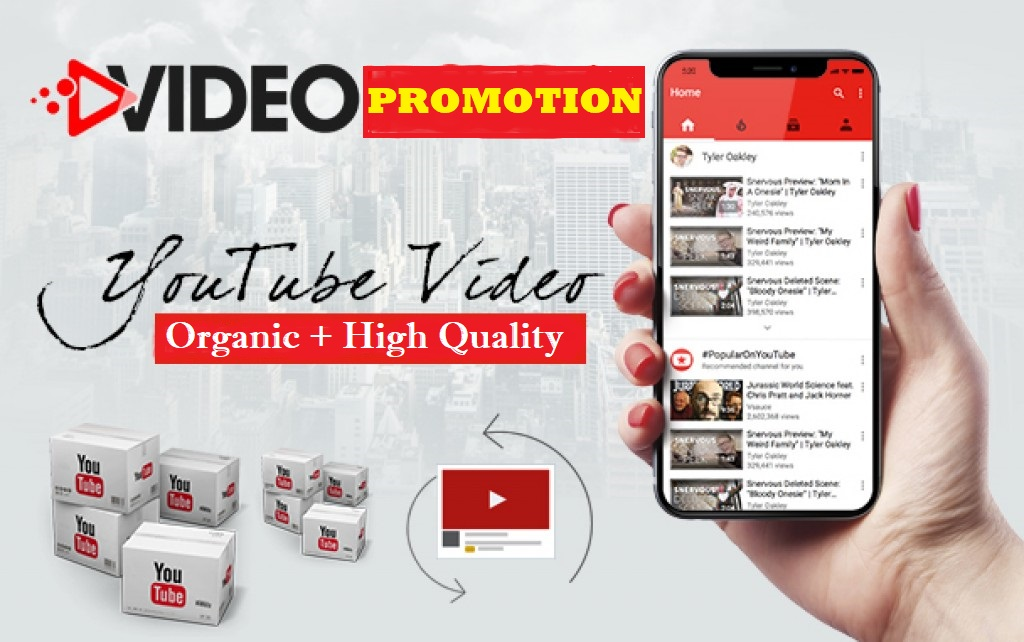 Real Youtube Video Promotion by Social Media Marketing
