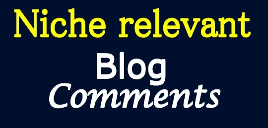 i Will Provide 85 Niche Relevent Blog Comments Backlinks