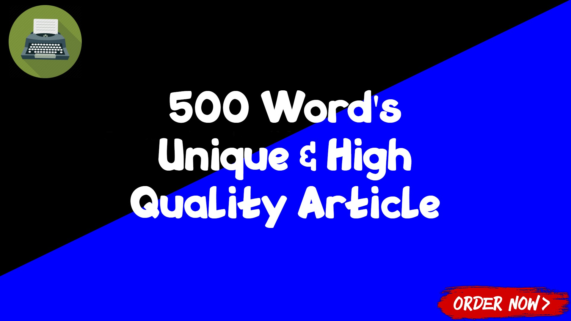 500 Unique and High Quality Article for your Website