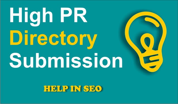 500 Directoral Submission in High-pr site within 24 hours.