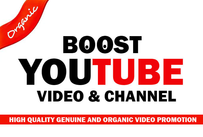Boost your ranking with the best youtube promotion