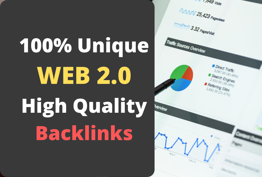 I will build 5 Web 2.0 Contextual Backlinks with unique Content and you will see Good SERP