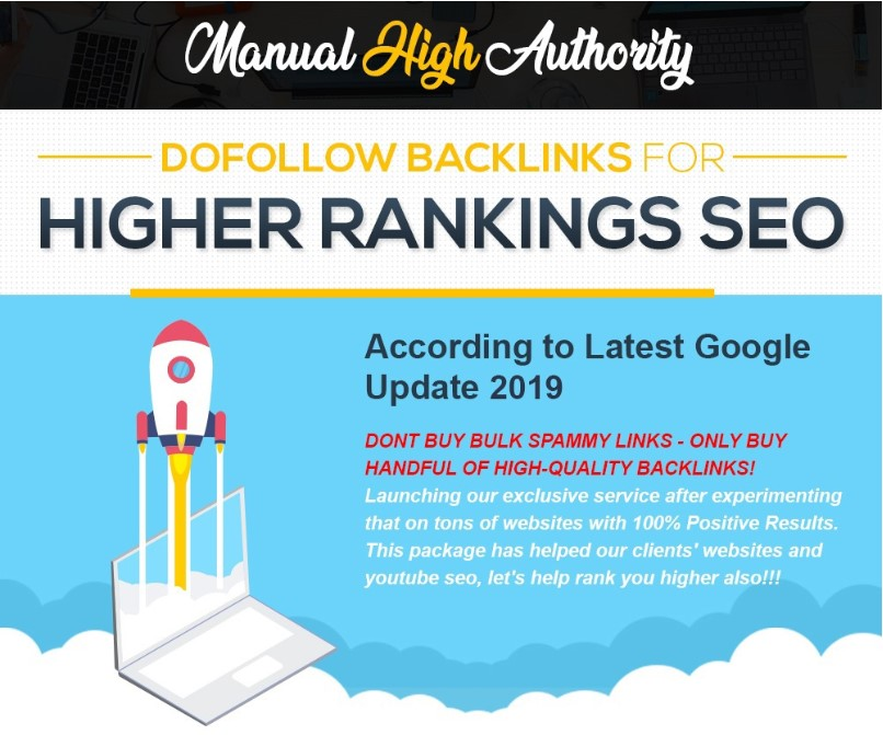 100 Dofollow Backlinks For Google High Ranking with Complete Report