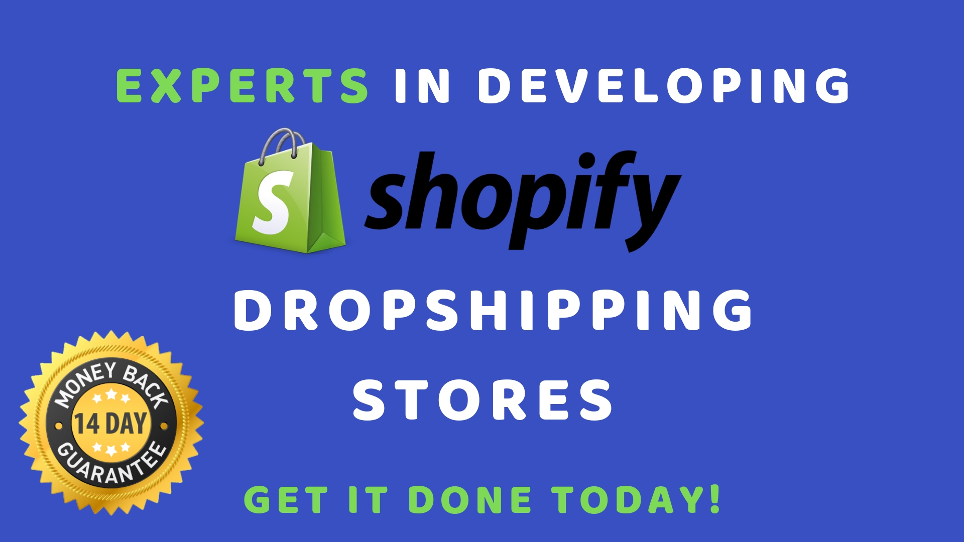 Design a Professional Ecom Shopify Web Store Making 500+ P/Month