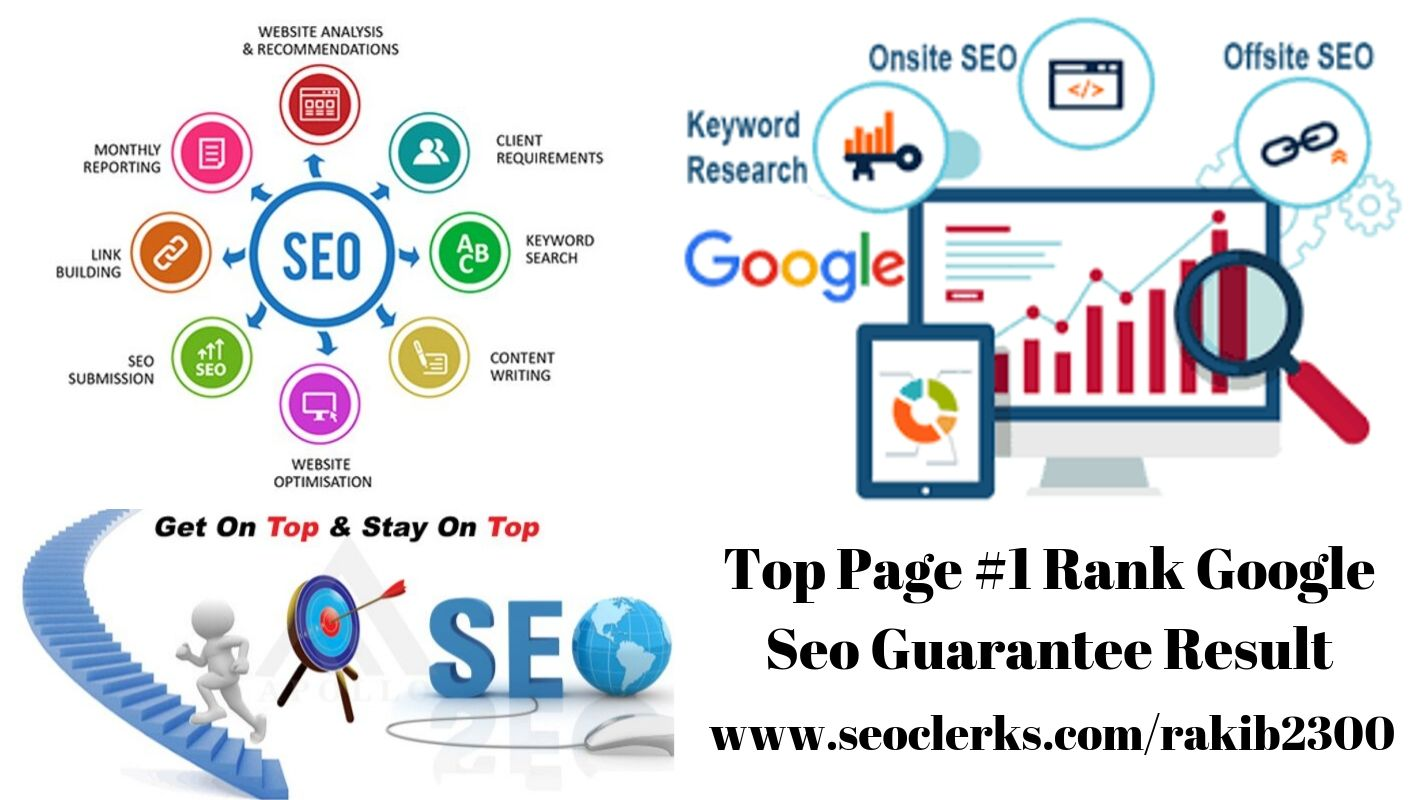 I will provide monthly excellent seo service to create backlink for google page ranking