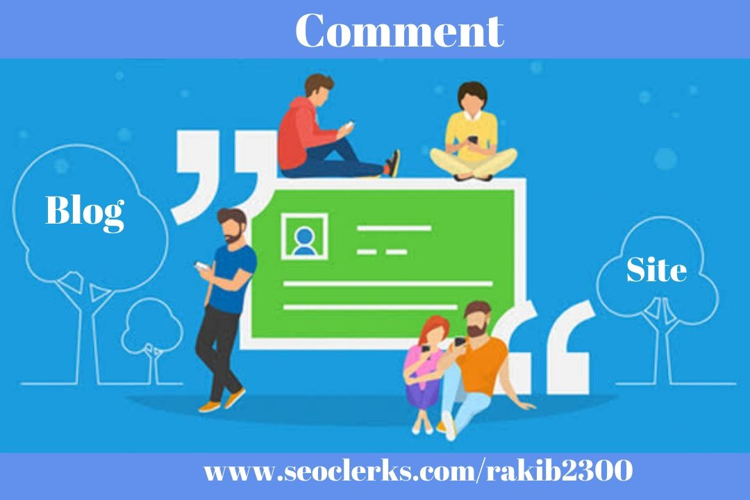 I will publish 25 blog comment dofollow backlinks with high quality site