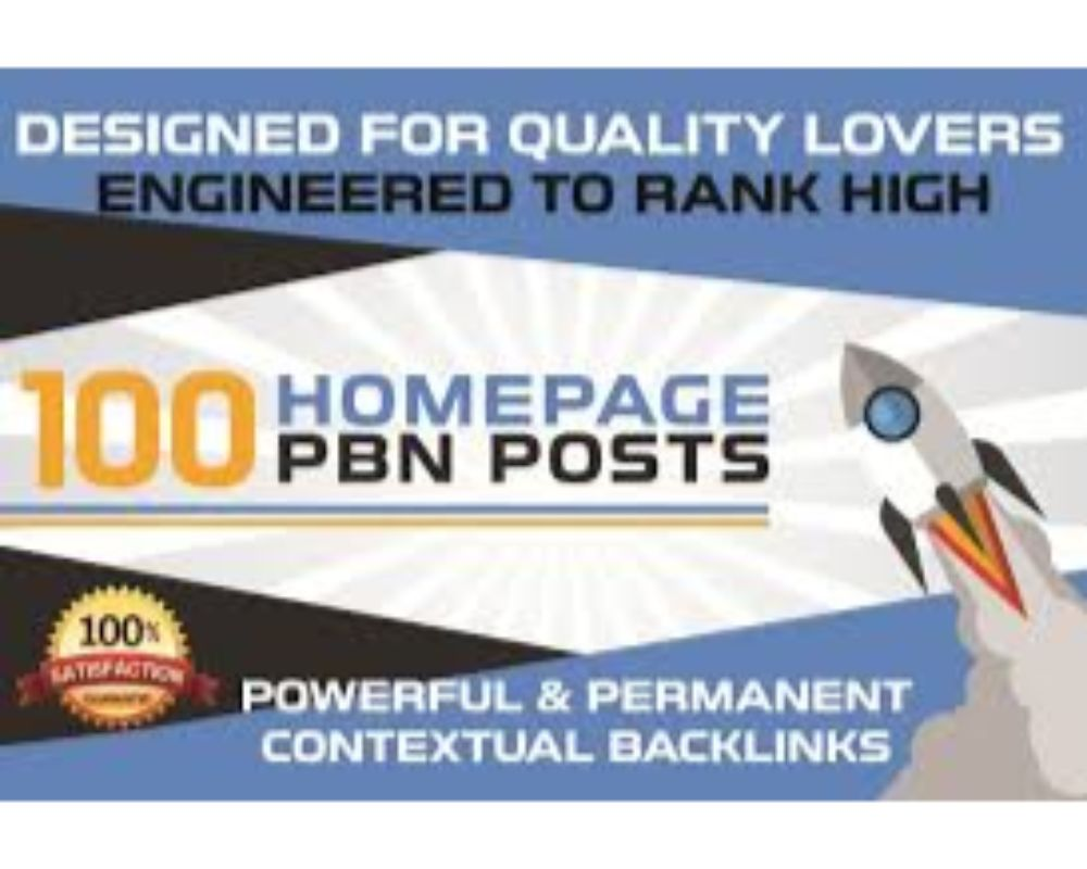 I will provide 100 PBN DA 20 TO 25+ homepage dofollow authority backlinks