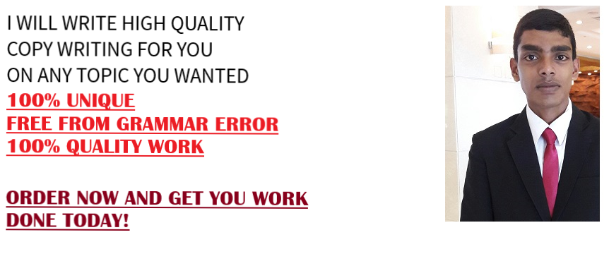 HIGH QUALITY COPY WRITING SERVICES FOR YOU