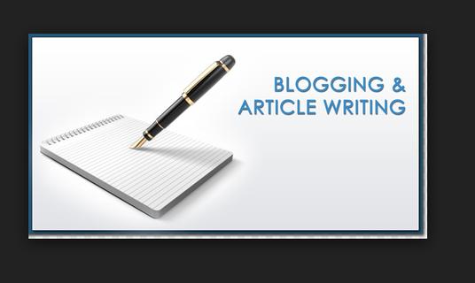 Write SEO articles,  blog posts & website content