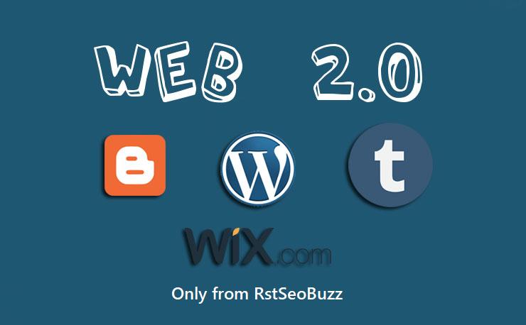 I Will Manually Create HQ Super Web 2.0 Backlinks Contextual Links