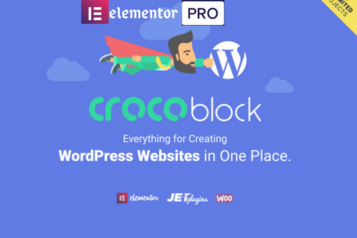 intall all jet plugins of crocoblock include elementor pro liftimeupdates