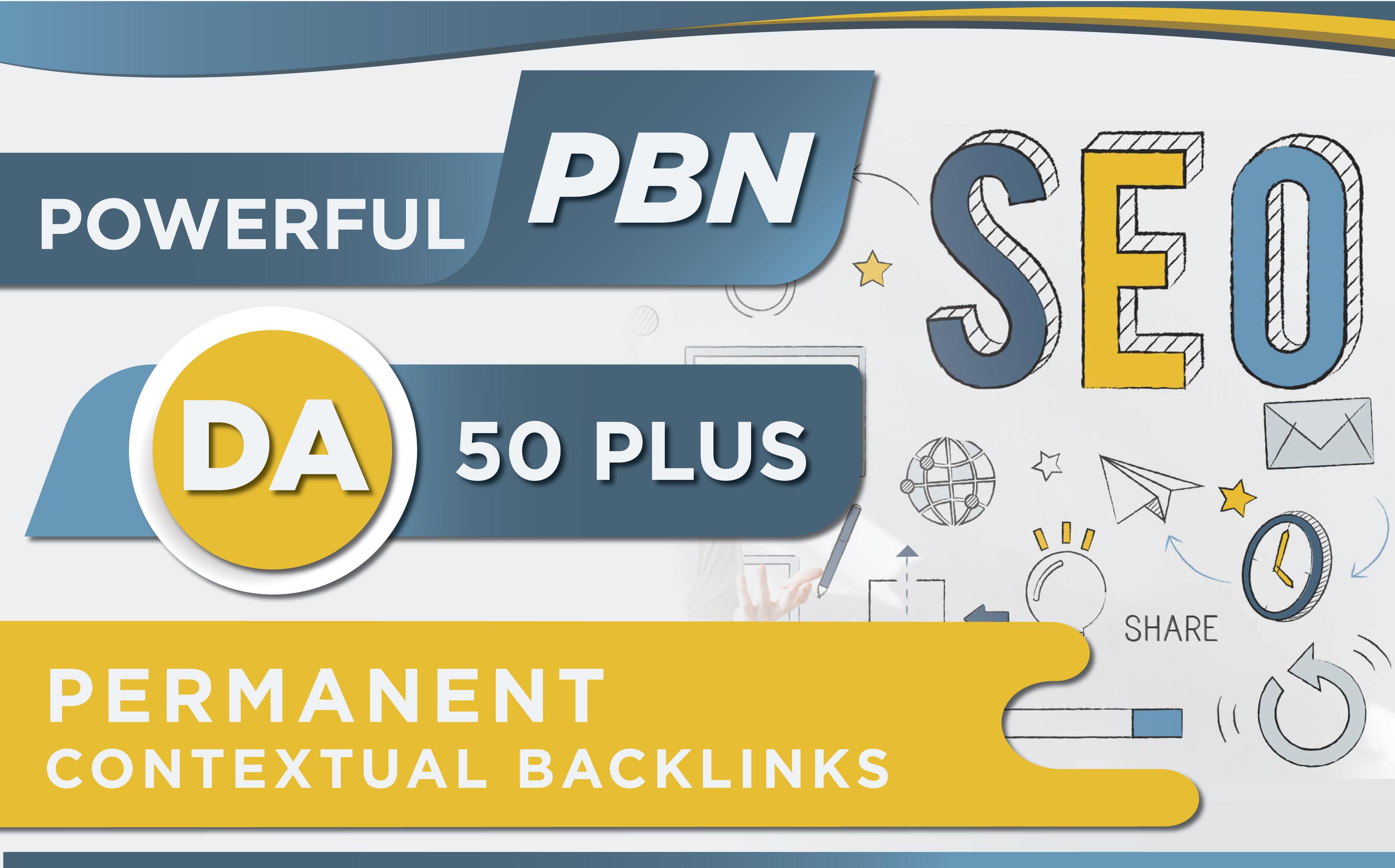 I will provide 10 PBN Bancklinks On DA 50+