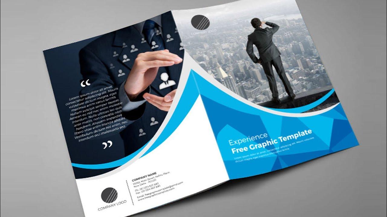 Make Creative, Unique Flyers   bifold brochure  Trifold brochure