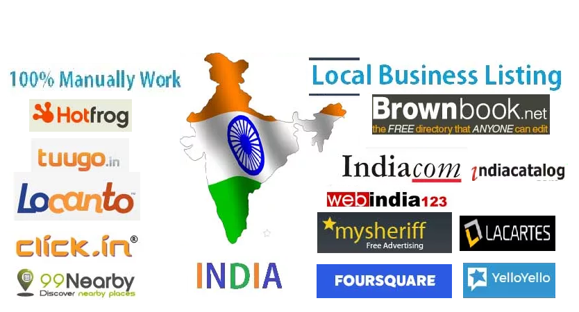 Get Accurate Best India Local Site Submissions for $5