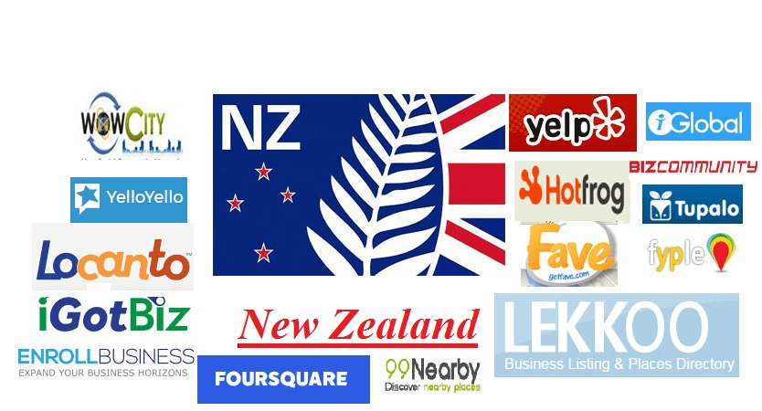 Get Accurate 60 Best New Zealand Local Citations