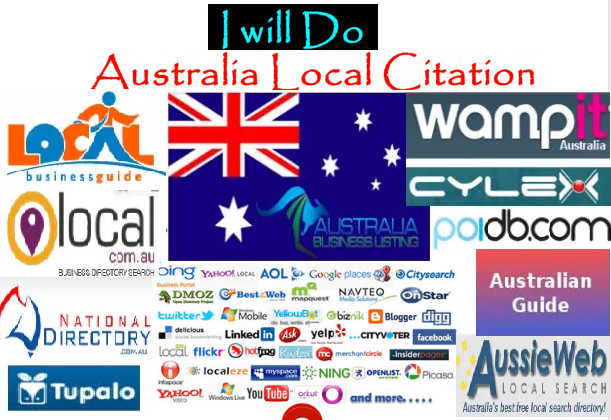 Get Accurate 60 Best Australia Local Citations