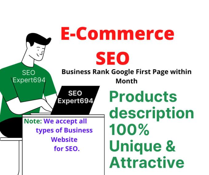 Write original and impressive SEO product Description