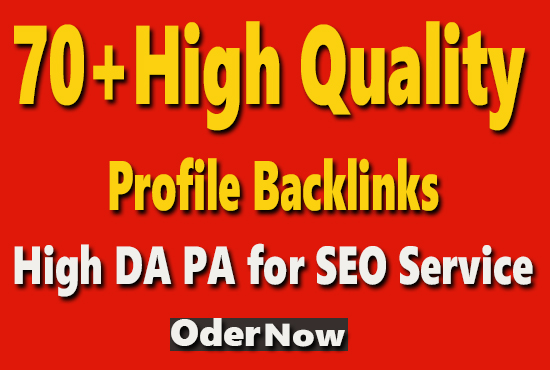 Create 70+ Boost Your Ranking With High Authority Dofollow Backlinks
