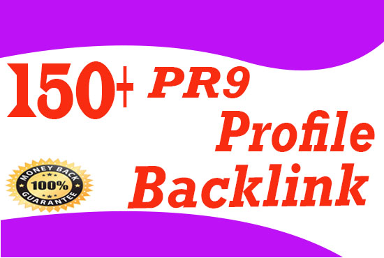 Create Manually 150+ High quality Dofollow Profile Backlinks