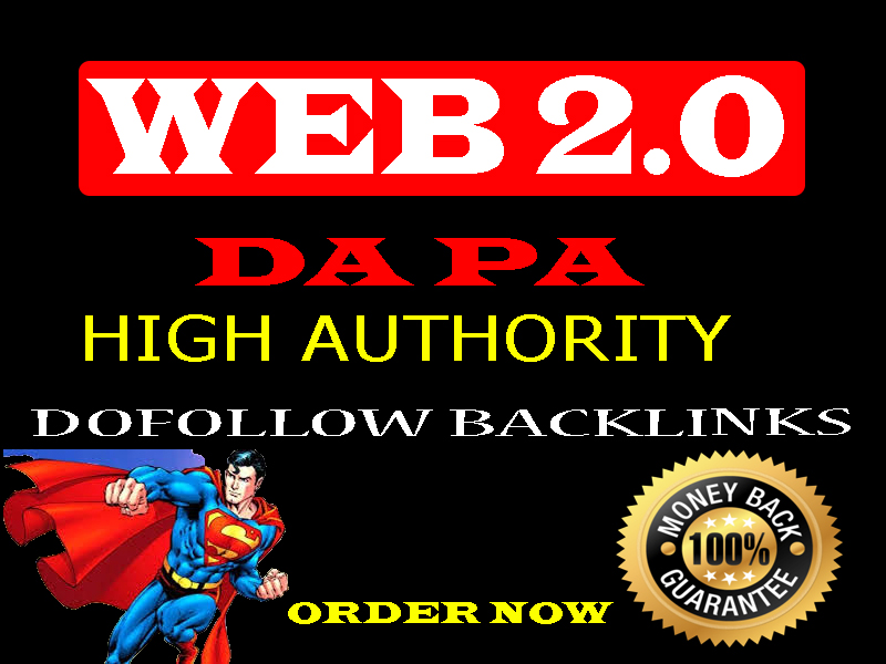 20 web 2 0 high authority do follow profile backlinks