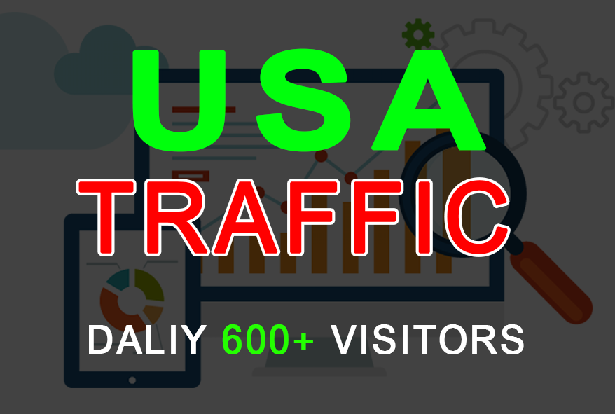 i will drive Real 20k Usa web traffic from social media