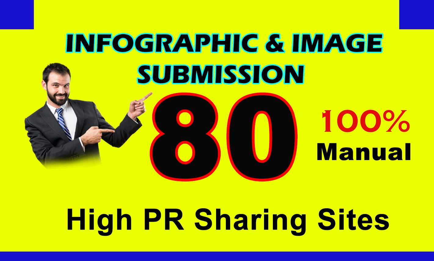 Submit Your Infographics, Images On High Da Photo Submission Sites