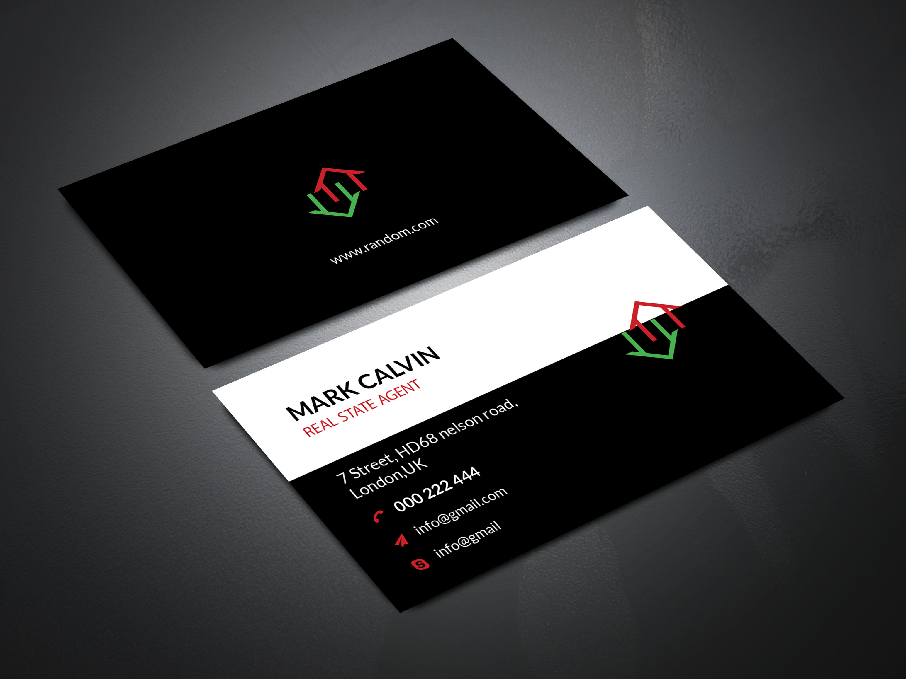 This is a business card for you and your company.