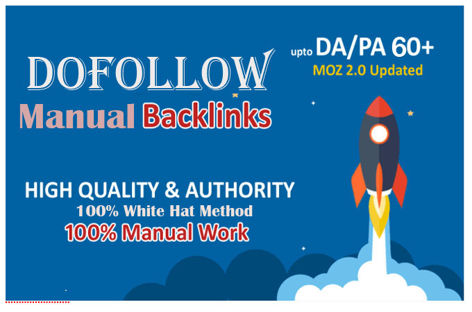 I will do 100 dofollow white hat backlink for google first page ranking
