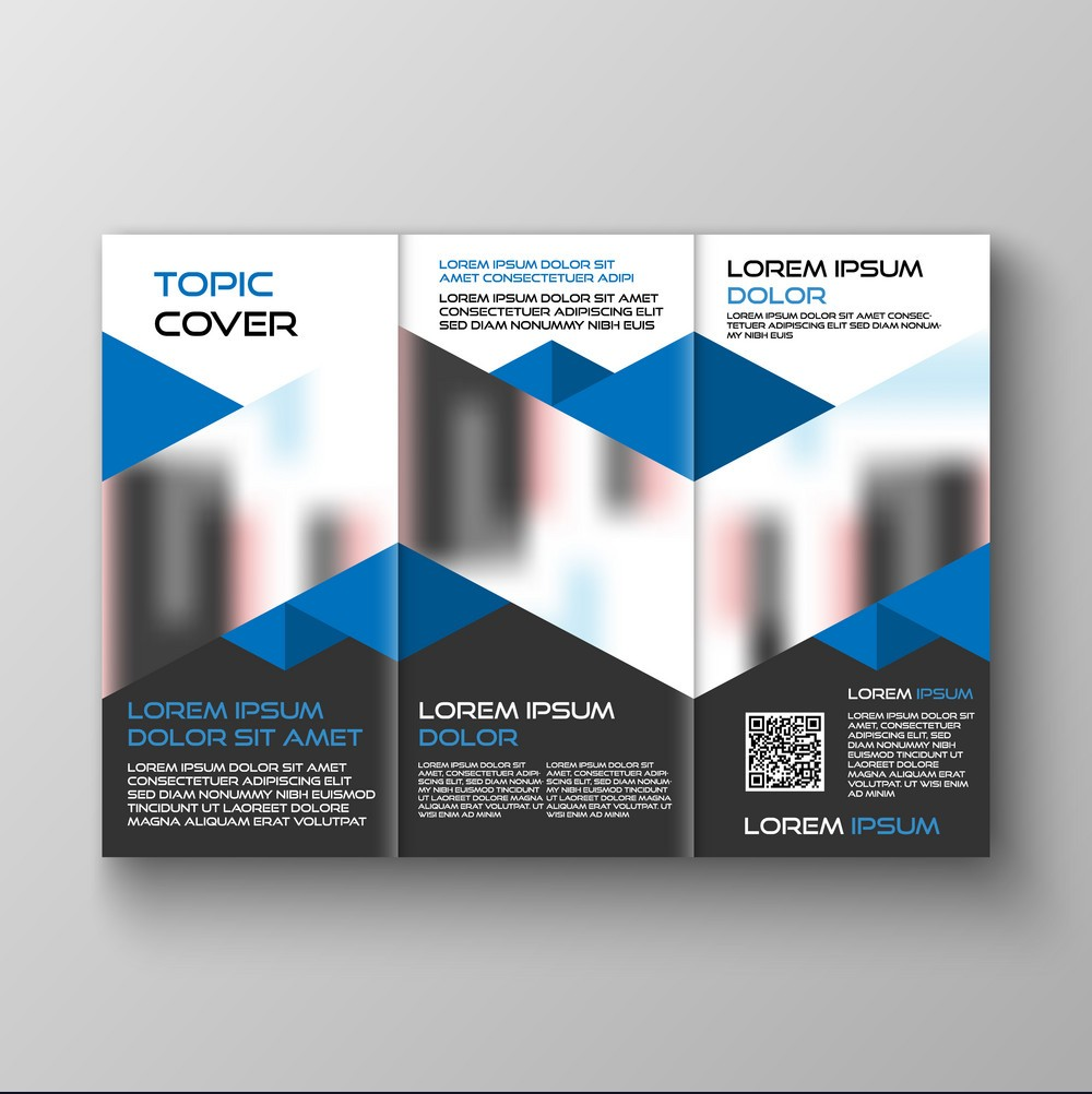 I will design print ready bifold or trifold brochure design