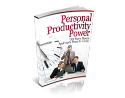 Get Your eBook now Personal Productivity Power