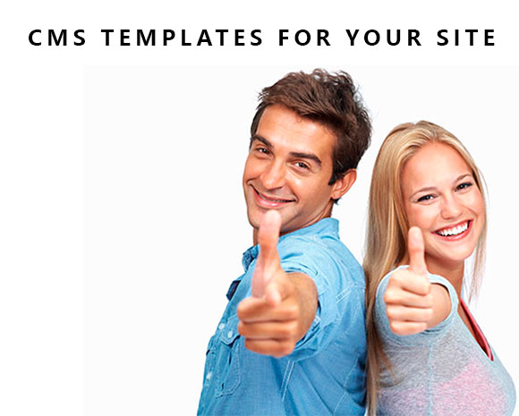 CMS templates for your site ( Bonus )
