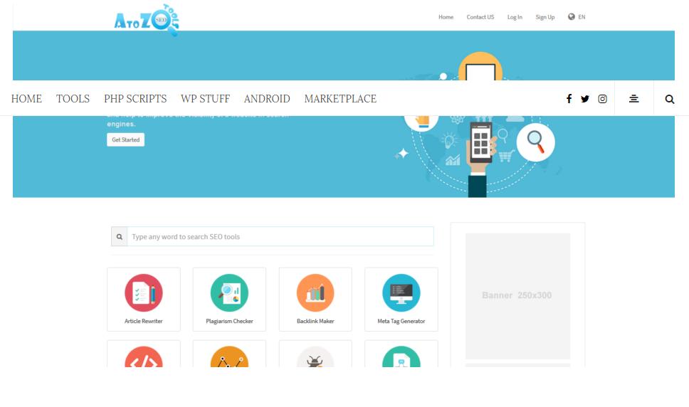 SEO Website A to Z SEO Tools software [script]