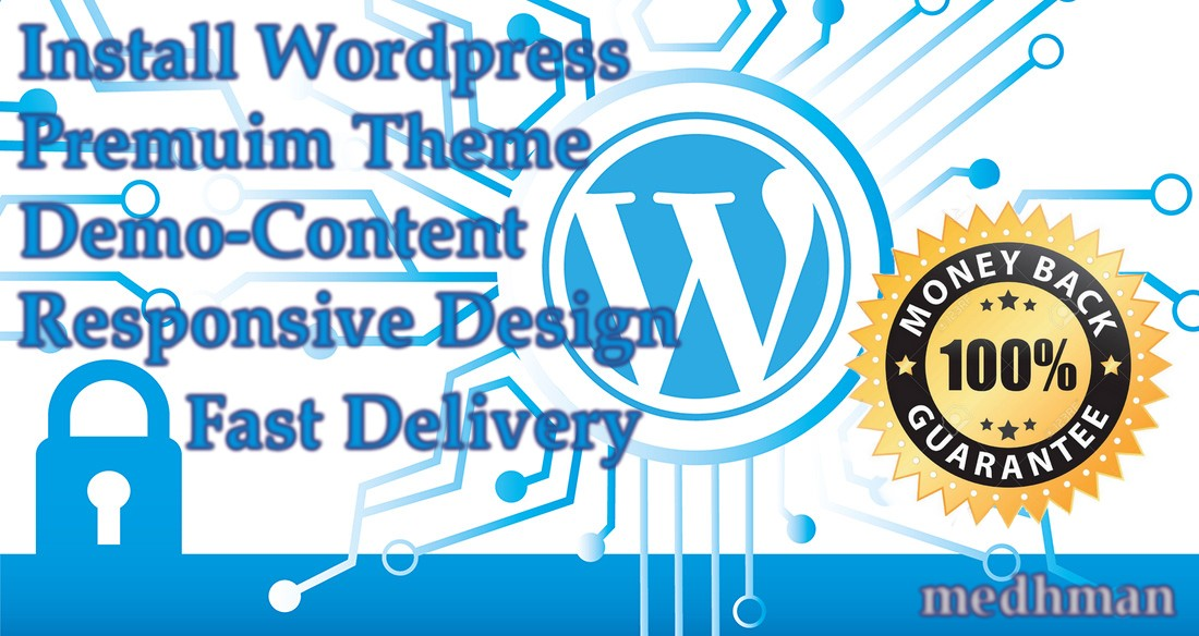 I will create Full Website Wordpress with Premium Theme
