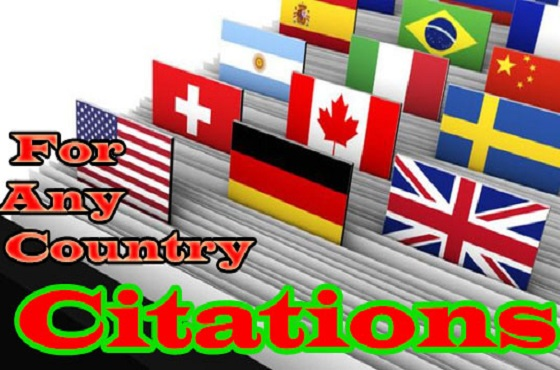 I will do Powerful 30 Citations For Any Country