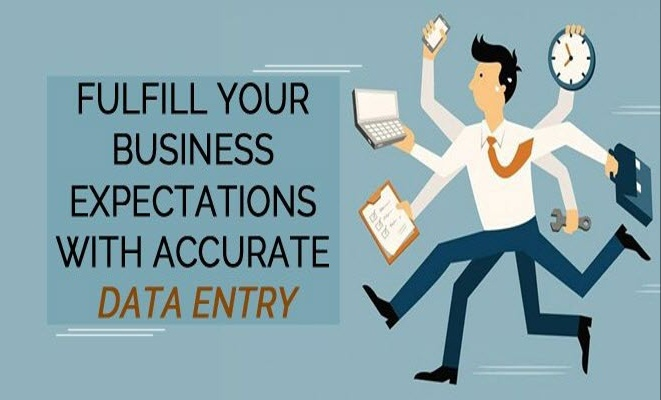 Data entry done here completed in 1 day