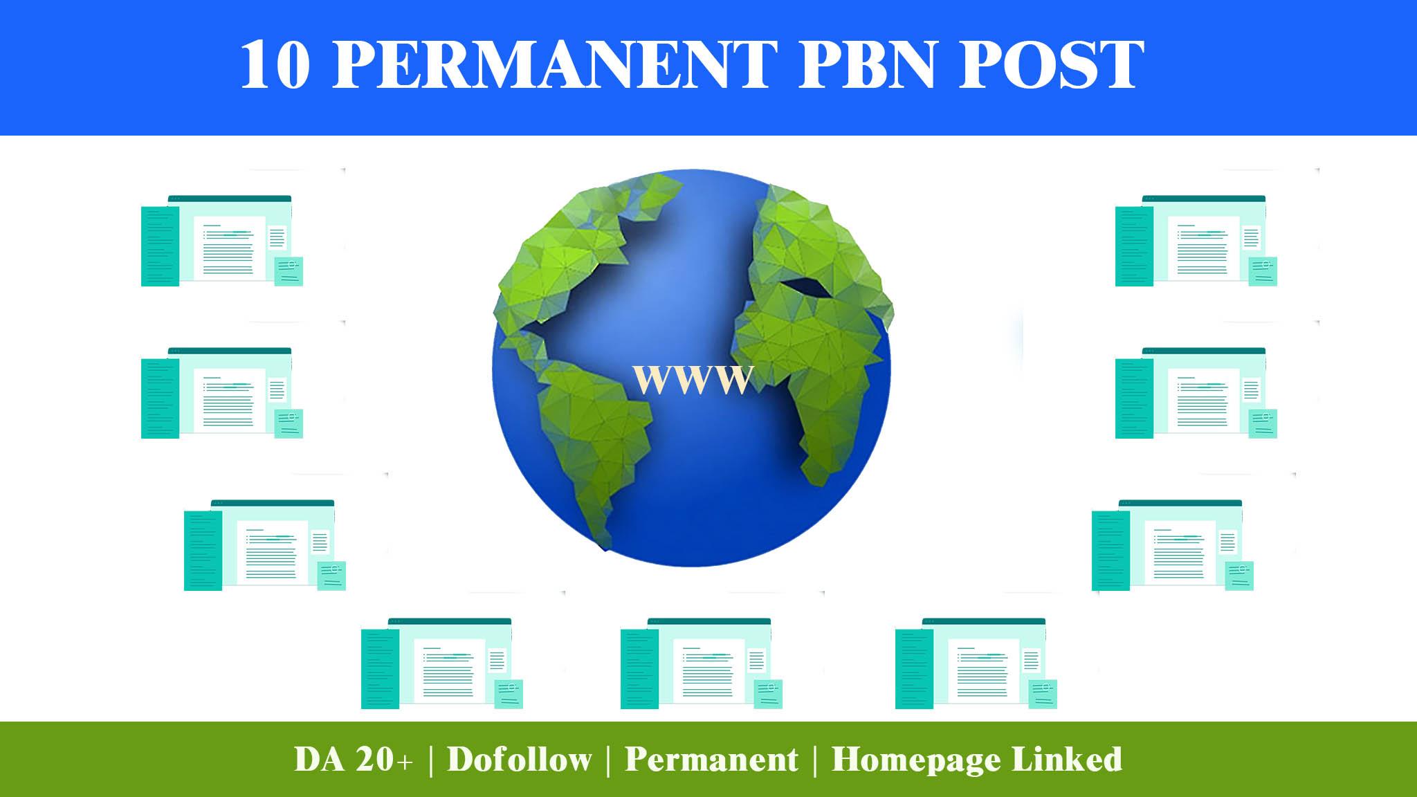 10 Dofollow PBN Backlinks For Your Website