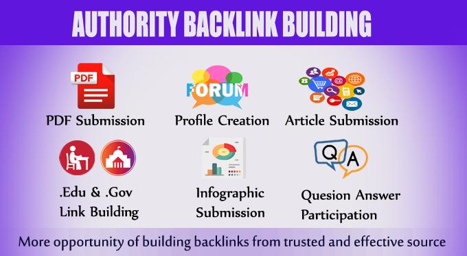30 Manually Created High Authority Dofollow Backlinks DA 50+