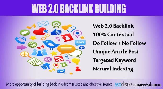 Manually Create 10 Web 2.0 Blog with Unique Content and Image