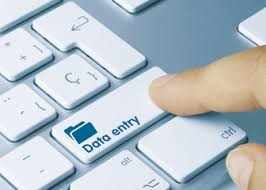 Data Entry with great Accuracy and in Time.
