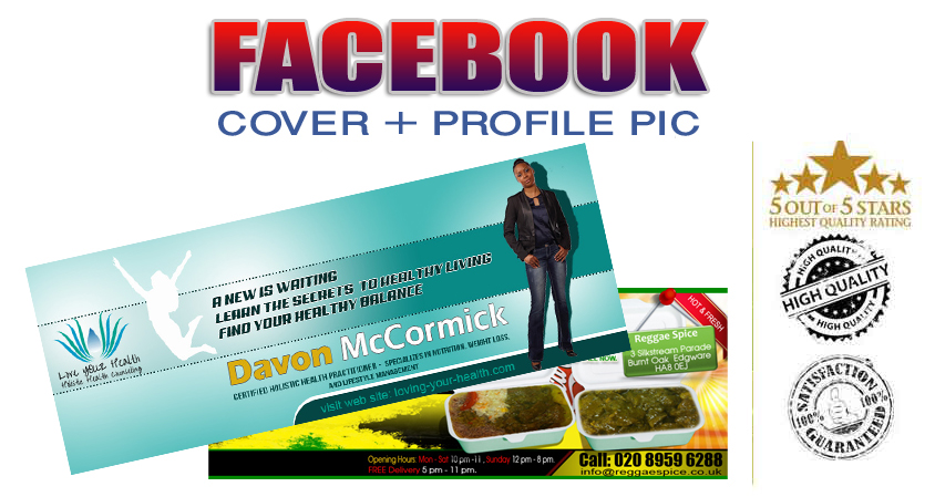 Attractive Facebook,  Twitter,  Youtube Cover And Profile Pic