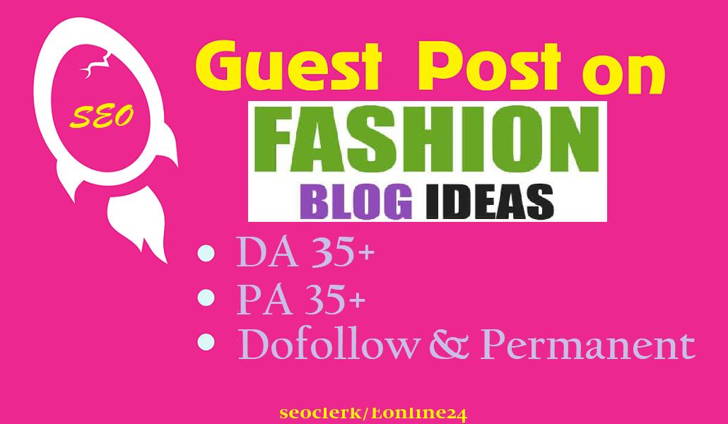 Publish Guest Post On My Fashion Blog Respectyourhealth.eu DA30+