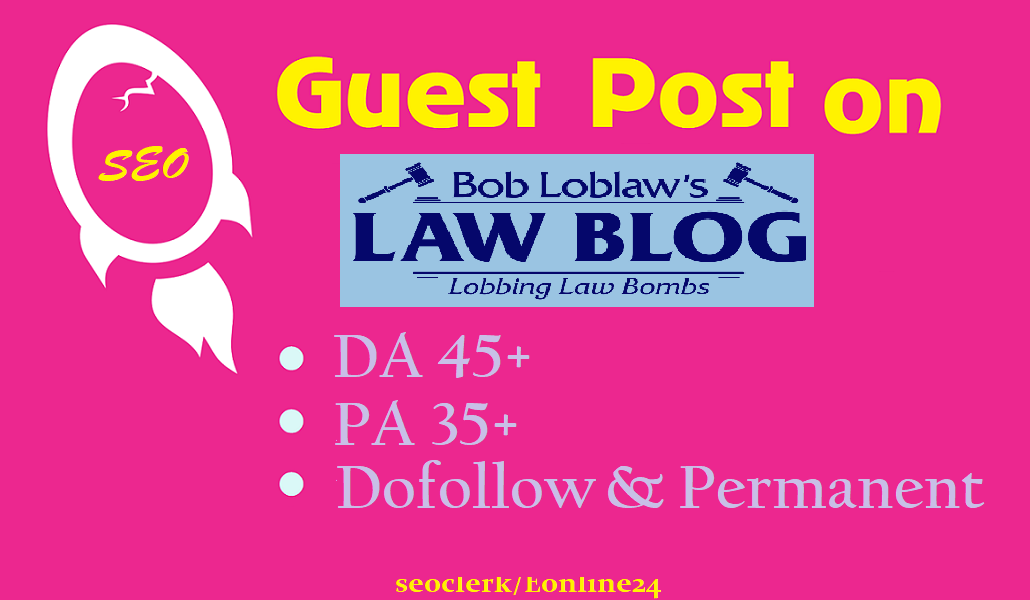 Write And Post On Finance,  Law,  Attorney Da50 Niche Blog