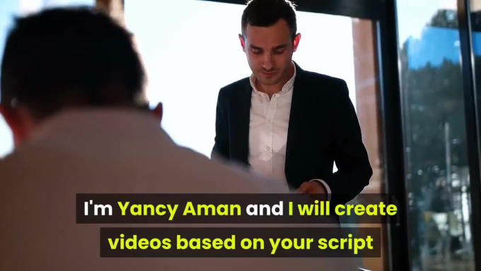 Create an Explainer Video using stock videos and images with voice over
