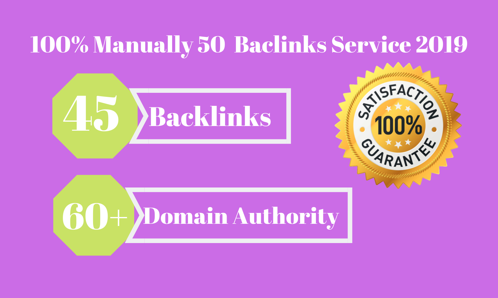 Limited time 50 backlinks from high DA 60 domains skyrocket your google rankings