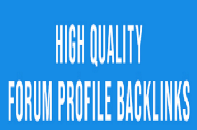 2000 + forum posting Backlinks for Google