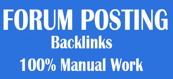 Rank on Google Alexa 2100 + forum posting Backlinks by manually