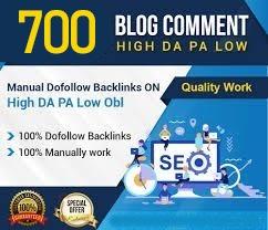 I Will Create 700 Dofollow High DA PA Top Quality Backlinks