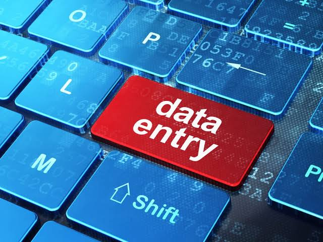Data entry job from any industry