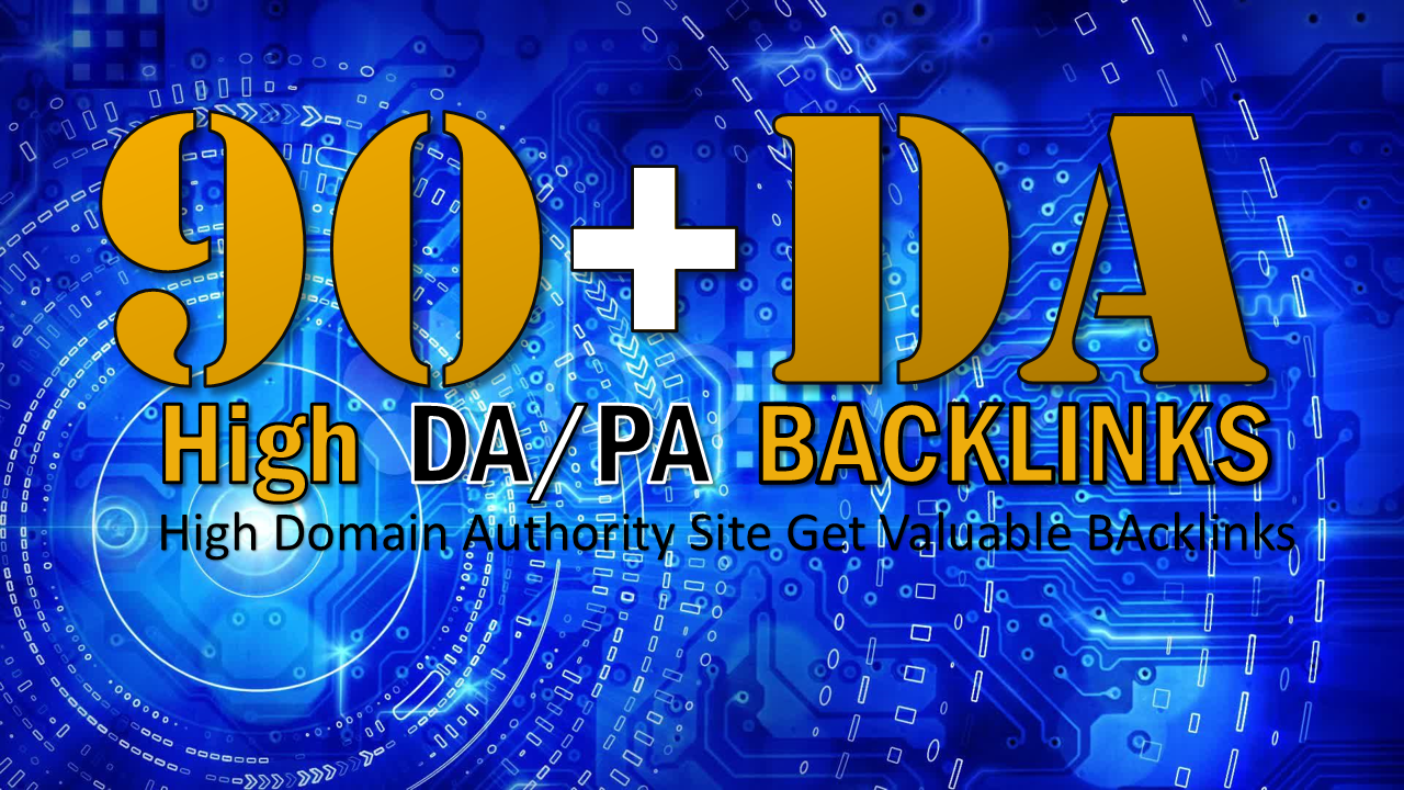 I Will Do 25 links High 100 Da Sites,  To Get Valuable Backlinks