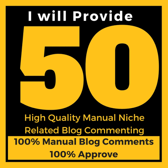 I Will give you 50 Niche Relevant Backlinks Low Obl Manual